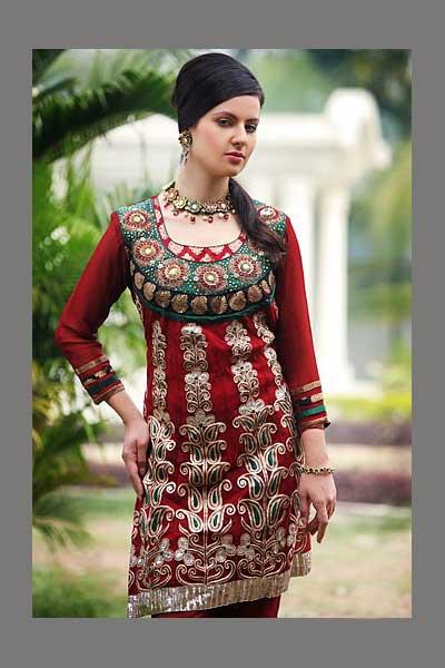 Wedding Wear Heavy Embroidered Salwar kameez