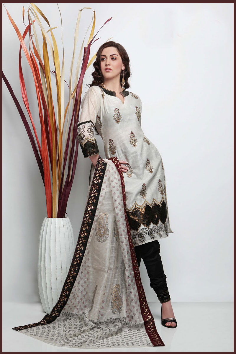 Indian fashion trend indian ethnic wear online indian clothing - Dupattas A Beautiful Salwar Dupatta To Complement Your
