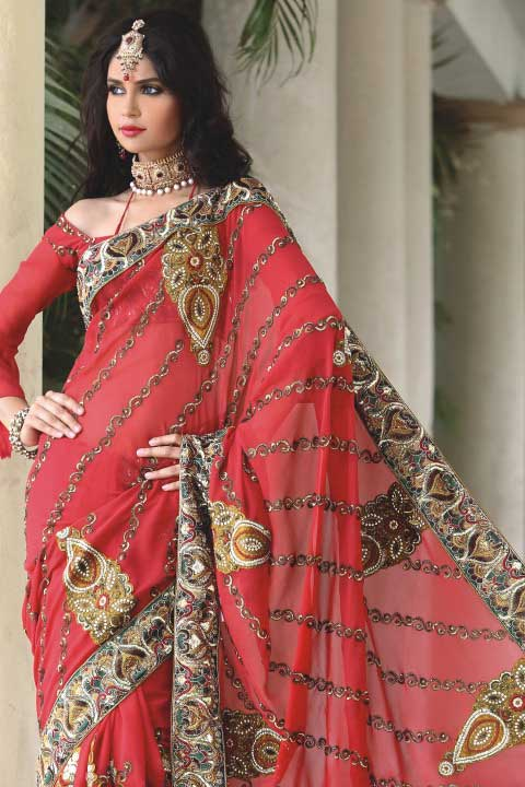 Latest Saree Fashion 2010