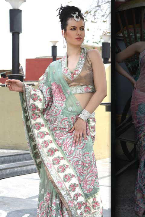 Latest Sarees in Fashion 2010