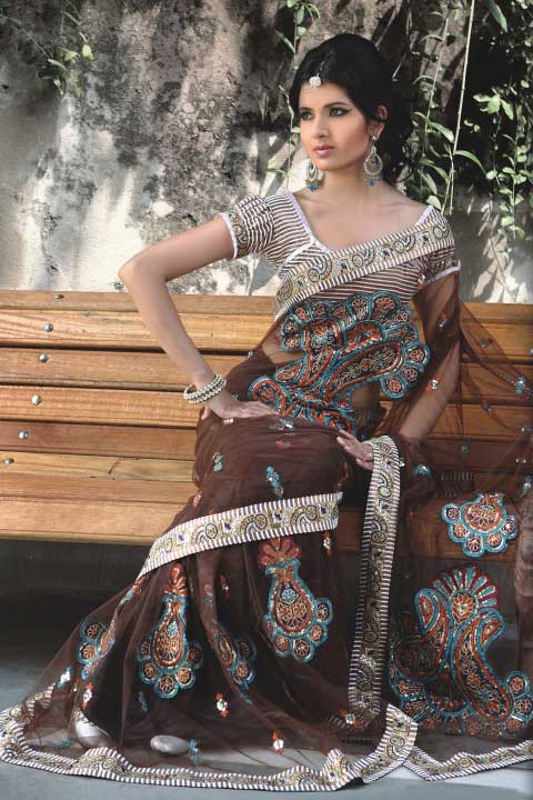 Latest Saree Design 2010