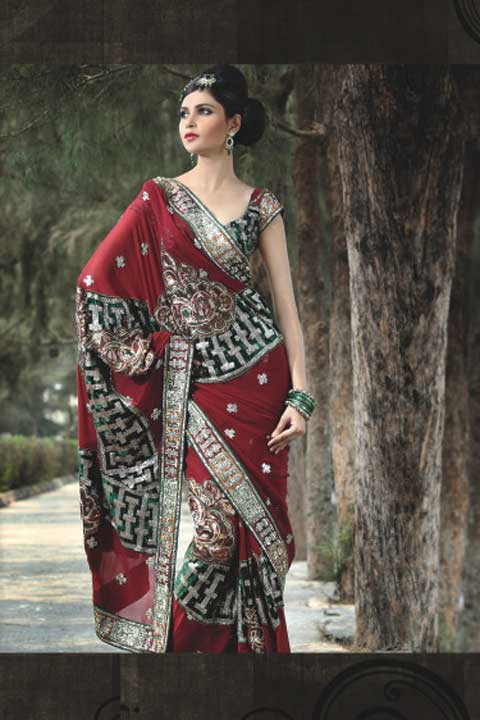 Latest Saris in Fashion