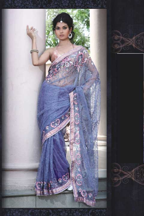Latest Sari Fashion 2010