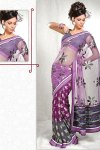 Latest Net and Banarasi Designer Saree 2010