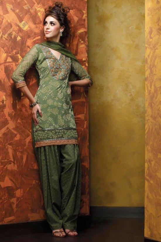 Light Green Salwar Kameez