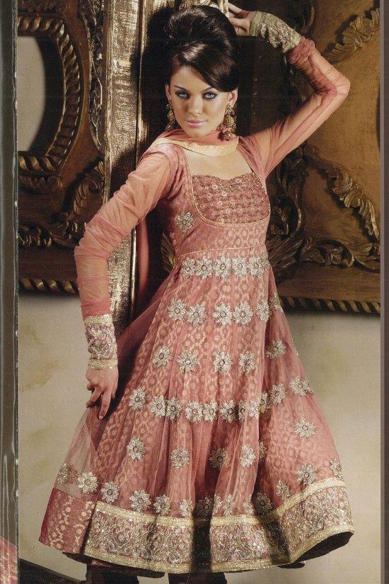 Heavy Anarkali Style Latest Salwar Kameez Designs