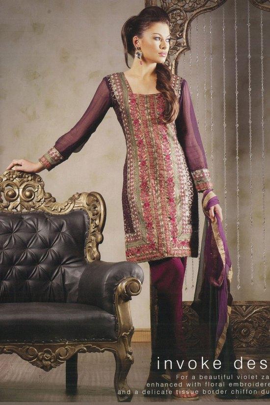 Latest Full Sleeve Salwar Kameez Designs