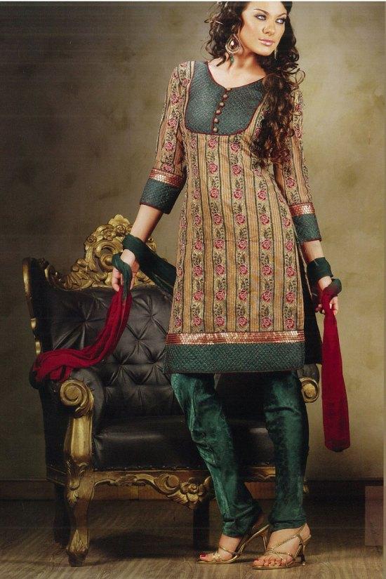 Stylish Latest Churidar Kameez Designs
