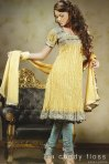 Latest Yellow Salwar Kameez Designs