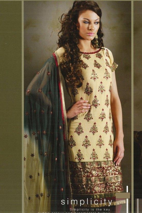 High Neck Salwar Kameez Designs