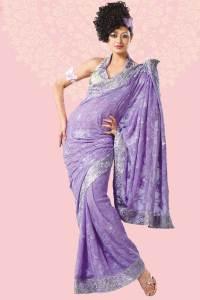 evening wear sarees