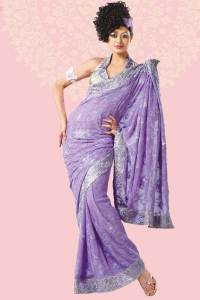 evening wear sarees