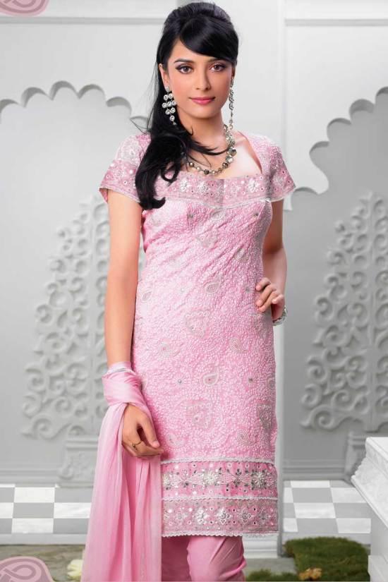 pink shalwar kameez