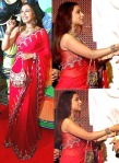 rani mukherjee red saree