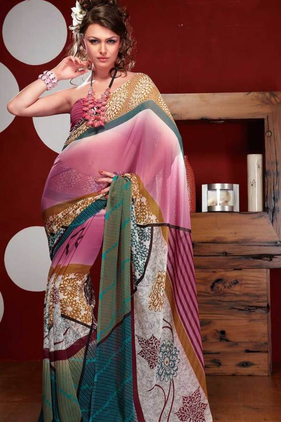 Newly Arrived Printed Sarees