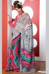 Affordable, low priced casual printed sarees collection 2010
