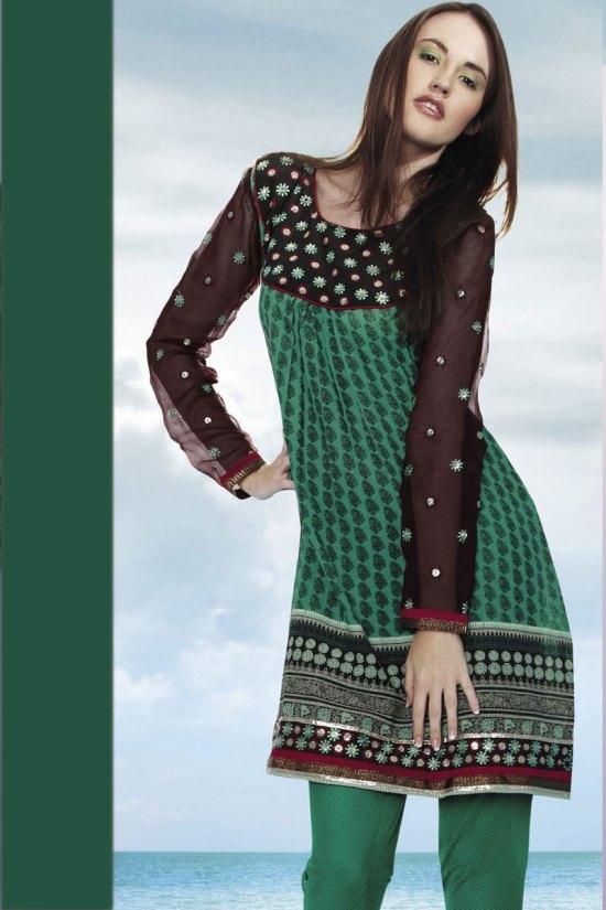 Heavy Churidar Kameez Designs 2010