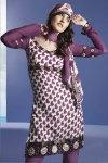 Purple Party Salwar Kameez Designs 2010