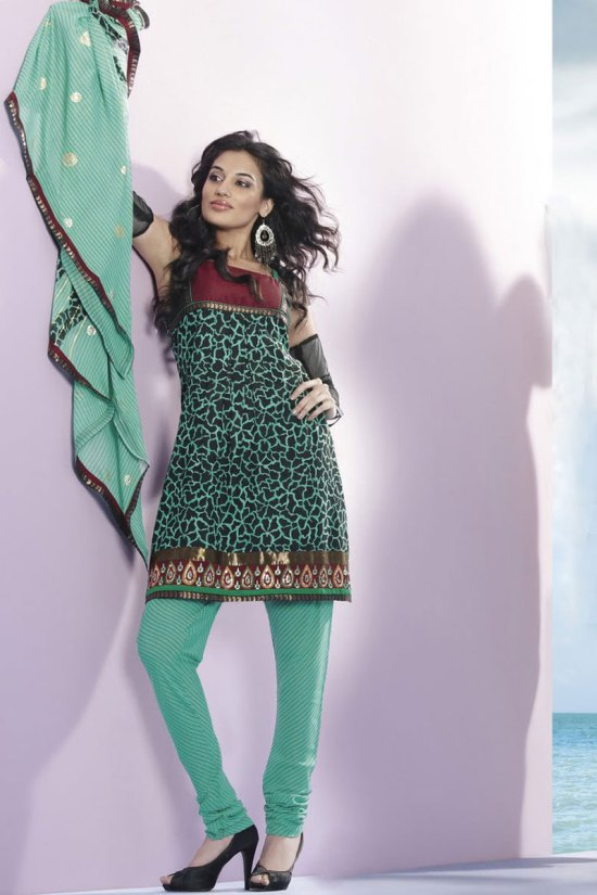 Latest Party Churidar Kameez collection 2010