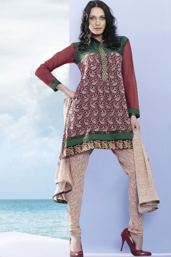 Worldwide Delivery on Salwar Kameez and Churidar