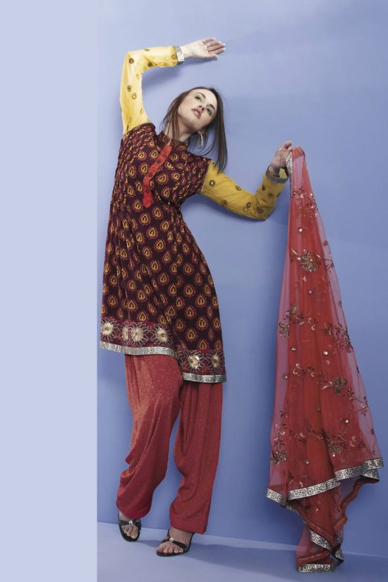 Party and Casual Salwar Kameez 2010