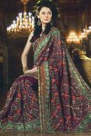 Designer Sarees on Sale with beautiful saree blouse