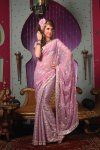 Latest Designer Saree Collection in Pink Color