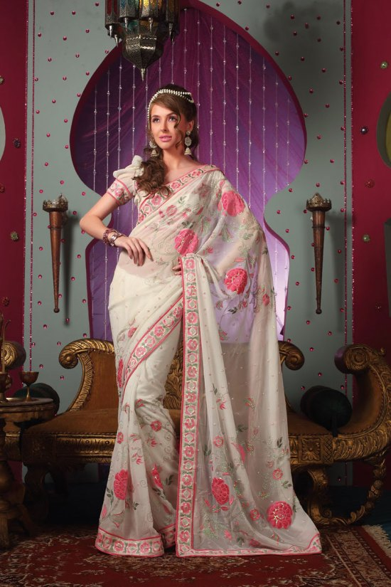 Newly Arrived Designer Wedding Saree