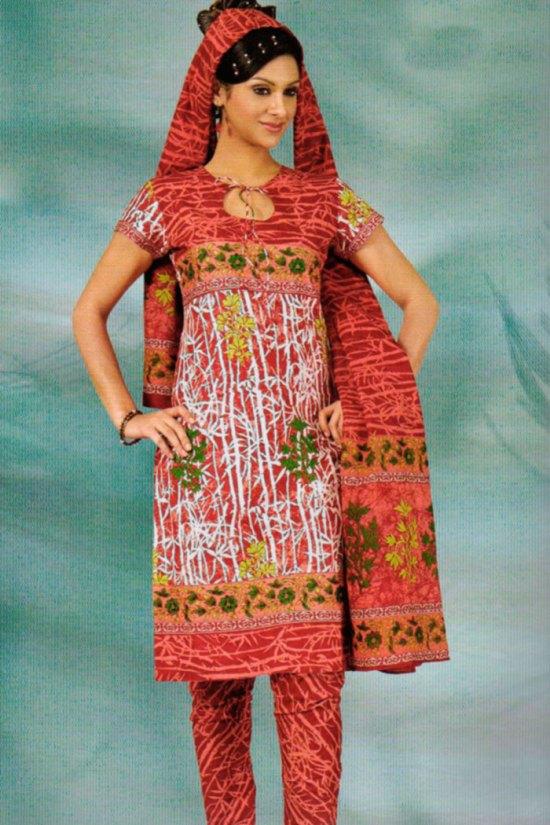 Cheap Cotton Casual Salwar Kameez