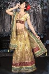 Latest Light Olive Green Lehenga Choli 2010
