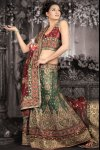 Latest Net Lehenga Choli 2010