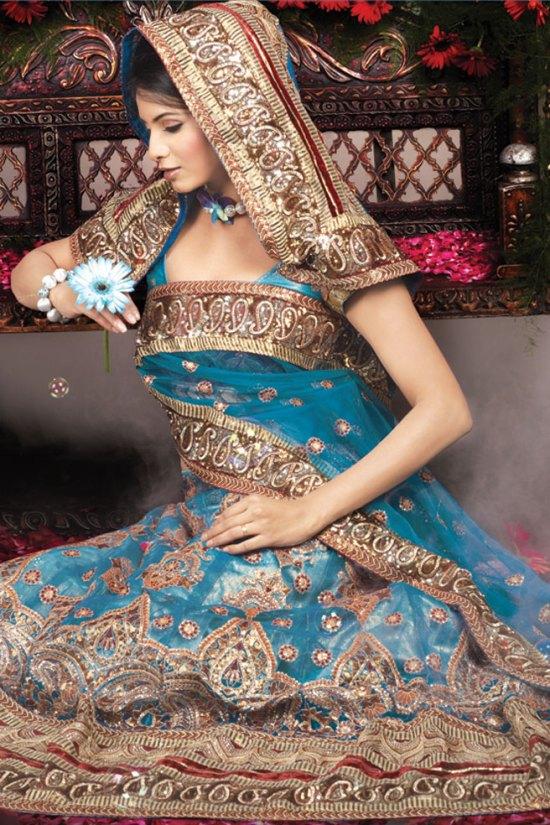 Newly Arrived Wedding Lehenga Choli Collection 2010