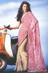 Light Pink Digital Printed Saree 2010