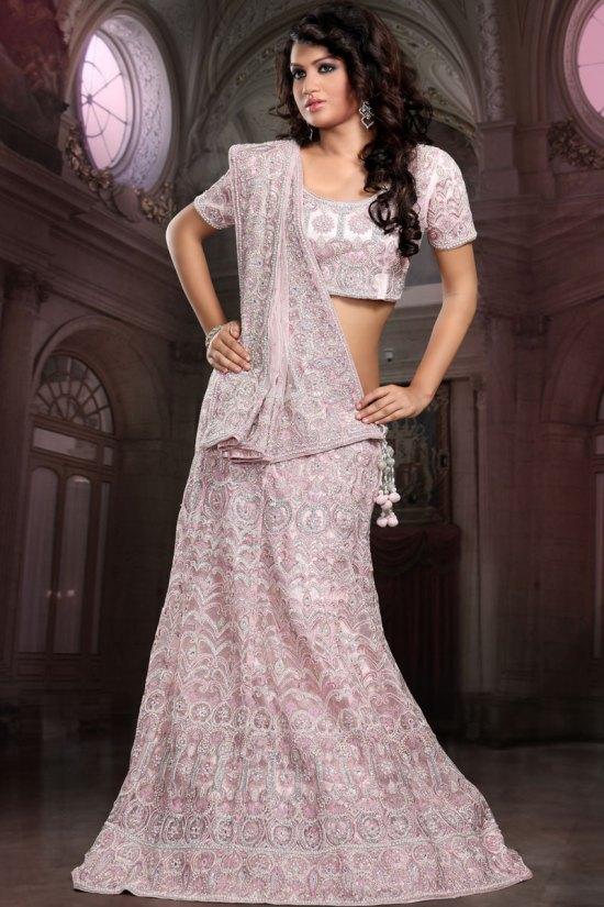 Latest Pink Wedding Lehenga Choli 2010