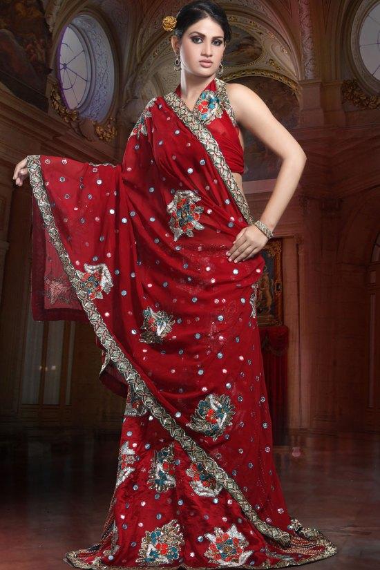 Maroon Designer Lehnga Choli 2010