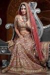 Latest Red Bridal Lehenga Choli Collection 2010