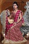 Deep Pink Ghagra Choli for wedding wear