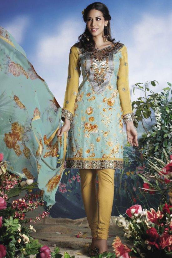 Freshly Arrived Cotton Churidar Shalwar Kameez 2010