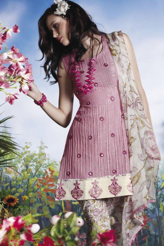 Trendy Pink Salwar Kameez 2010