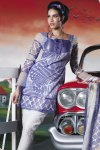 Blue Churidar Salwar Kameez 2010