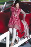 Latest Red Churidar Salwar Kameez 2010