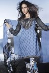 Freshly Arrived Blue and Black Salwar Kameez 2010