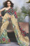 Stunning Saree with Equal Stunning Blouse Piece