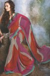 Multicolor Designer Printed Saree Collection