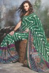 Georgette Printed Festival Wear Saree 2010