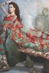 Trendy Designer Party Saree in Green Color