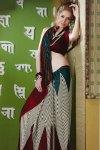 Latest Printed Saree with Stunning Saree Blouse Designs
