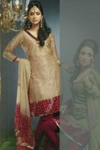 Full Sleeves Churidar Kameez Designs 2010