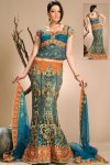 Latest Embroidered Wedding Lehenga Choli 2010