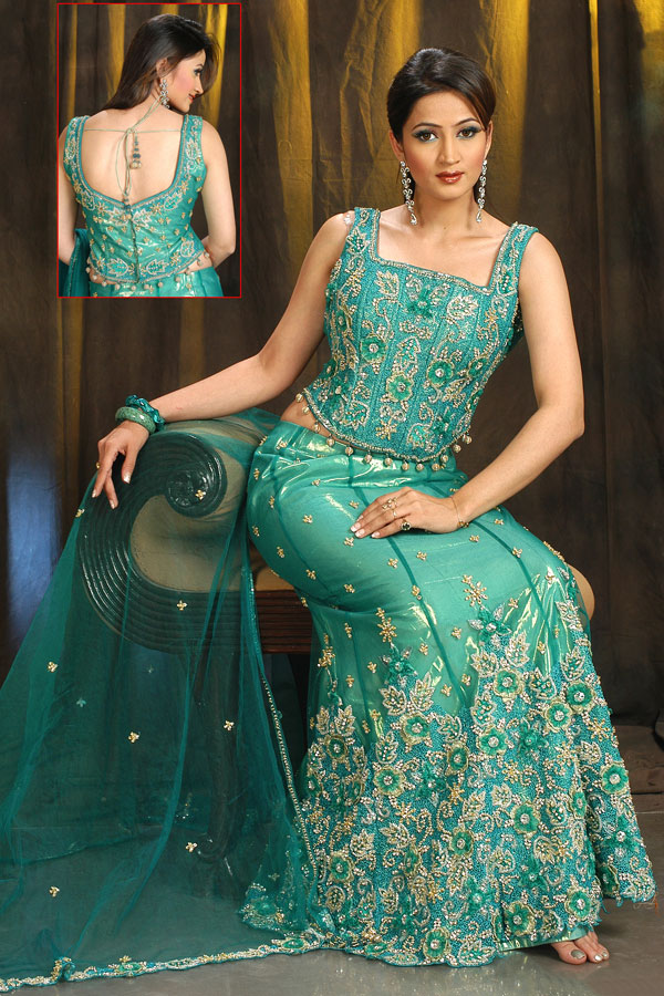 new ghagra choli designs